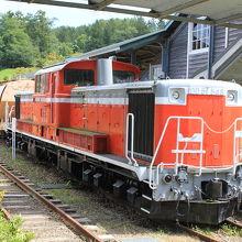 ディーゼル機関車も