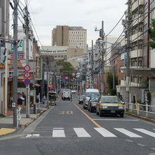 夏目漱石が有名になる前から夏目坂