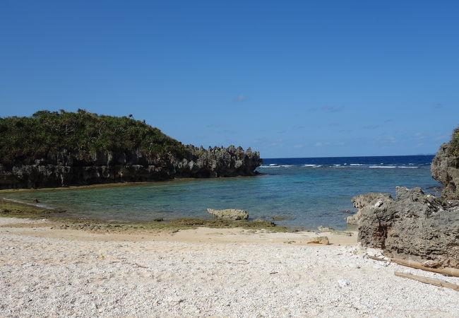 穴場のビーチ