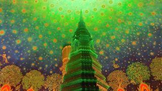 寺院の中の小宇宙