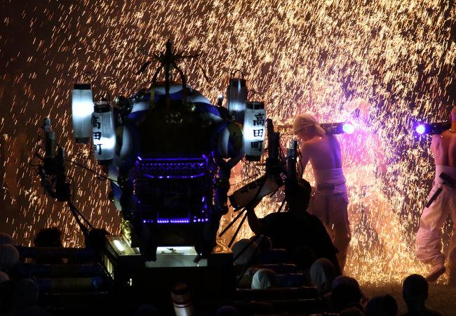 手力の火祭 夏