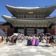 広い!韓国王朝ドラマの雰囲気