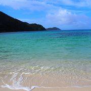 渡嘉敷島の代表的なビーチ