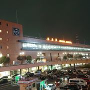 都会な仙台駅