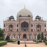 タージ・マハルに似ているような「フマユーン廟(Humayun's Tomb)」~インド デリー~
