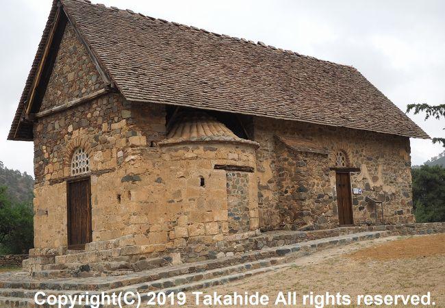 山奥に建つ教会