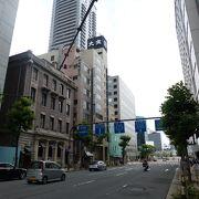 歴史的な建物が点在しています