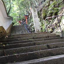 これ以上階段を上る気力がありませんでした。