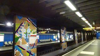 観光に便利なのはやはり地下鉄