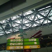 意外と小さい空港でした