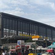 繁華街の駅!