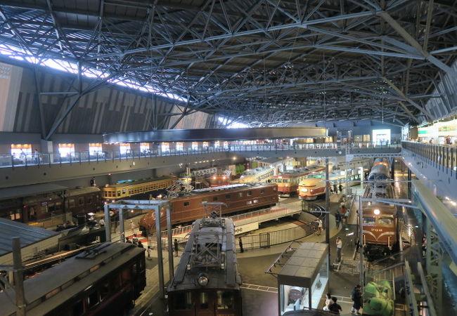 鉄道と日本産業も勉強できる博物館