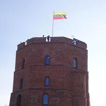丘の上の城博物館 (ゲディミナス塔)