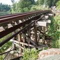 写真:アルヒル桟道橋