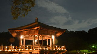 奈良の夏の風物詩。