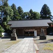 普通の神社です