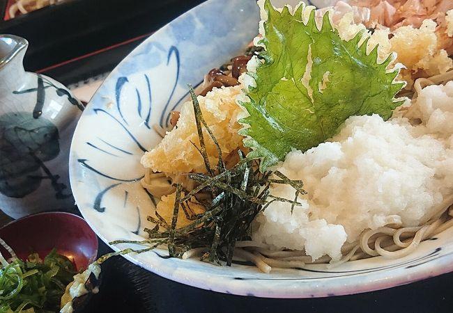 天ぷらがおいしいお蕎麦屋さん