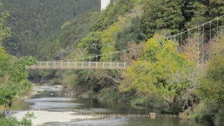 吊り橋です