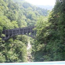 古尾橋なども見られました