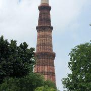 大きな塔「クトゥブ ミナールとその建築物群」~インド デリー~