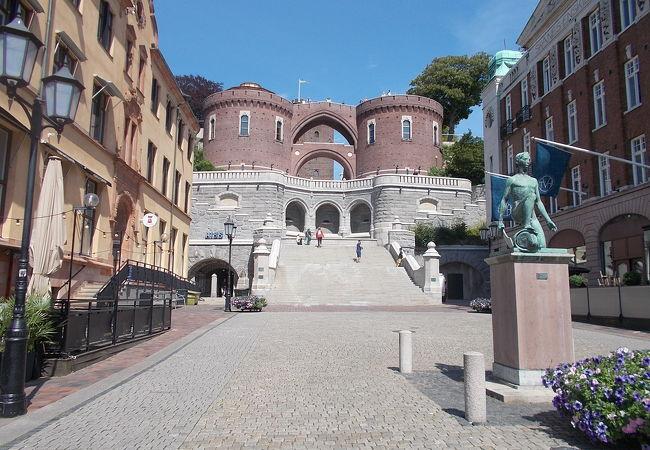 ヘルシンボリにある城です。