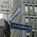 写真:リトル コリンズ ストリート