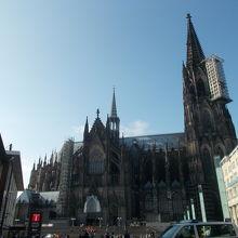 中央駅からの景観です。