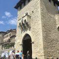 城塞都市サンマリノへの城門