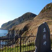 函館山の裏側の断崖が見れます