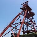 写真:旧三井田川鉱業所伊田竪坑櫓