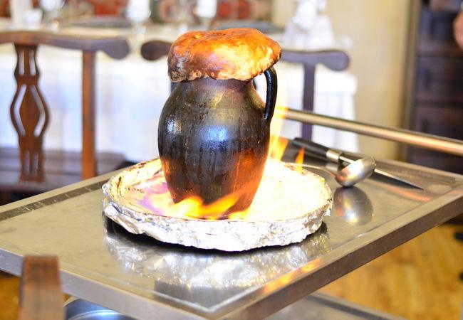 ハネダン レストラン カッパドキア