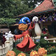ハロウィンディズニー、楽しいです!