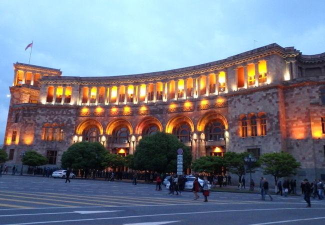 建物が美しい