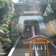 竜宮城への入口の様な造りの門でした。
