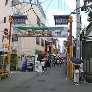 (生野コリアタウン) JR鶴橋駅の東側で、生野区桃谷にあります