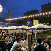 札幌 大通公園が巨大ビアガーデンに