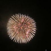 三大花火、楽しみました