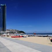 青い空!きれいな砂浜!