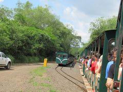 イグアス国立公園内 トロッコ列車