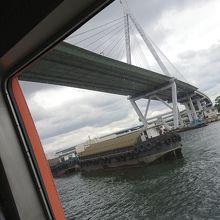 大阪湾クルーズ船から