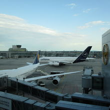 搭乗した機体ではないのですが・・。