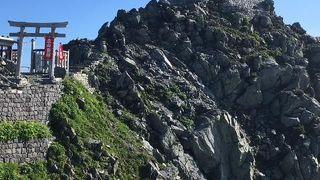 標高3000メートルの神社