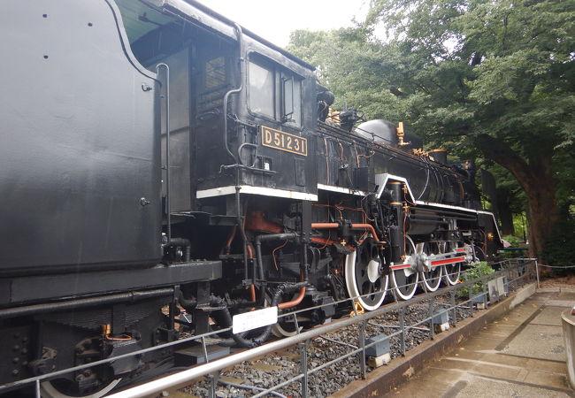 蒸気機関車D51231