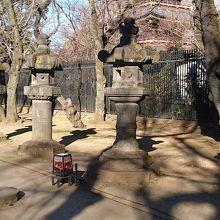 上野東照宮 石灯籠
