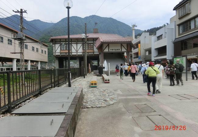 富富山地方鉄道の駅でトロッコ電車の駅ではない