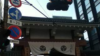 増上寺の表門
