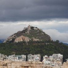 リカヴィトスの丘の眺め