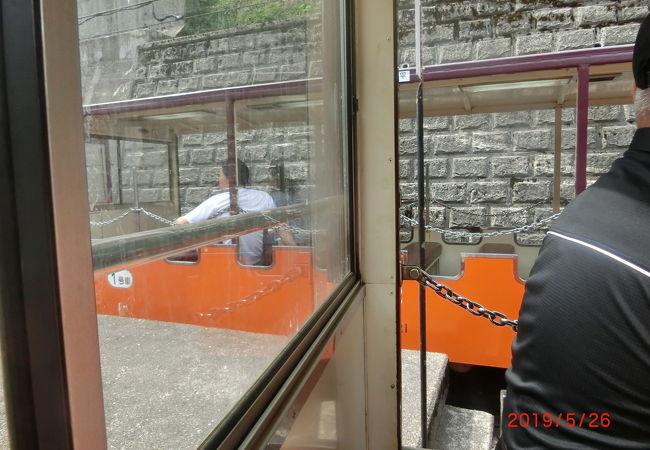 トロッコ列車の運転練習をさせてくれるようです