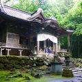 神秘的な雰囲気のある神社