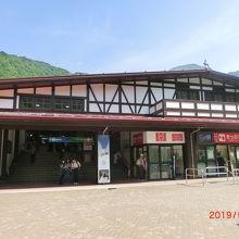立山駅売店